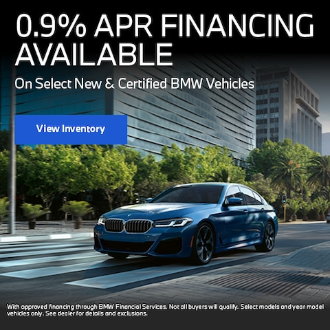 0.9% APR Financing Available
