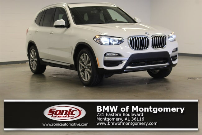 New 2019 BMW X3 sDrive30i SAV in Montgomery, AL