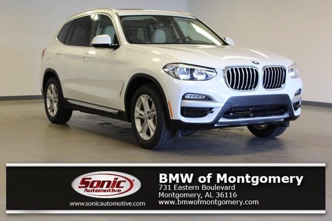New 2019 BMW X3 sDrive30i SAV in Montgomery, AL