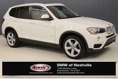 Used 2017 BMW X3 SAV in Nashville