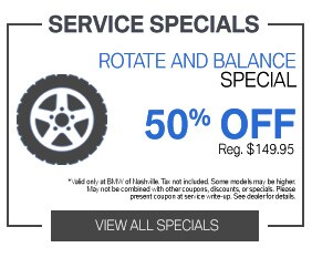Tire Rotate and Balance Service Special