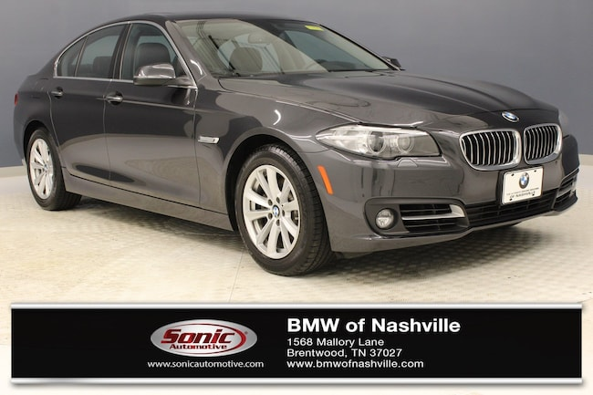 Certified Used 2016 BMW 528i Sedan in Nashville