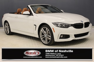 New 2019 BMW 430i xDrive Convertible for sale in Brentwood, TN