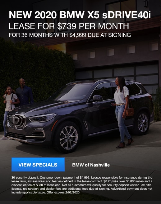 2020 BMW X5 Lease Specials