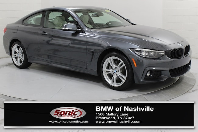 Certified Used 2019 BMW 430i Coupe in Nashville