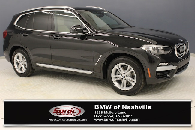 New 2019 BMW X3 sDrive30i SAV for sale in Brentwood, TN