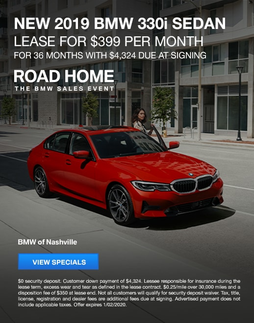2019 BMW 330i Lease Specials