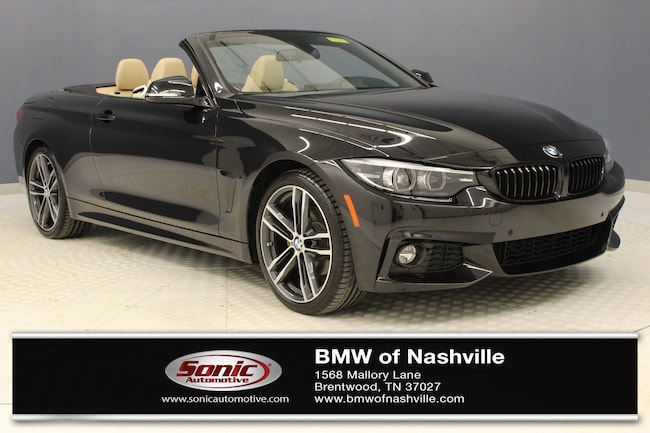 Certified Used 2019 BMW 430i Convertible in Nashville