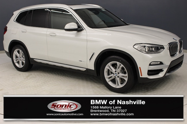 New 2018 BMW X3 xDrive30i SAV for sale in Brentwood, TN