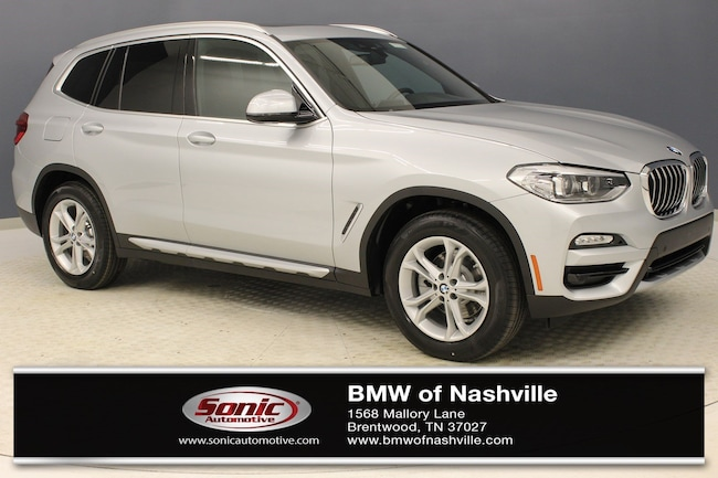 New 2019 BMW X3 xDrive30i SAV for sale in Brentwood, TN