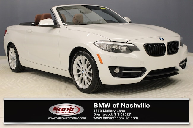 Certified Used 2016 BMW 228i Convertible in Nashville