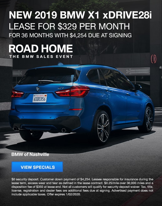 2019 BMW X1 Lease Specials