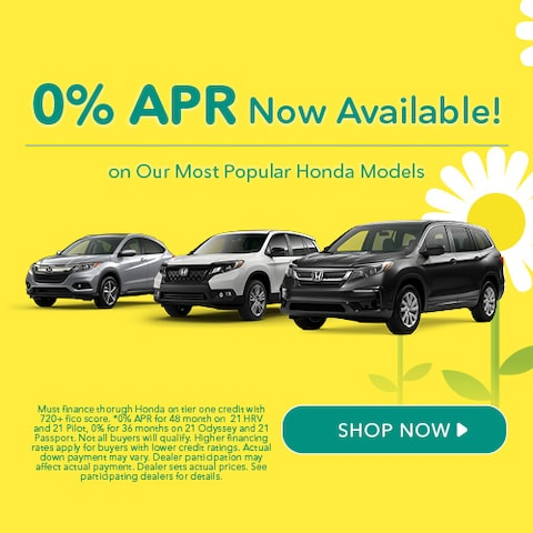 0% APR Now Available!