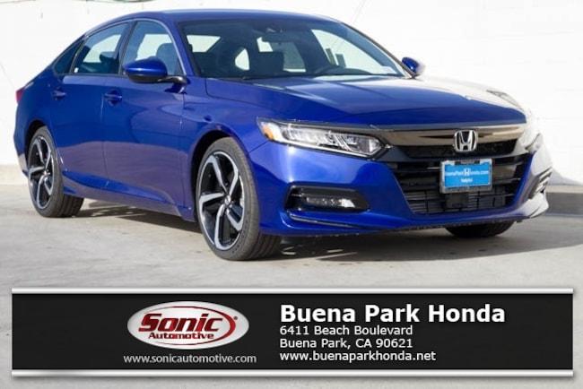 New 2019 Honda Accord Sport Sedan in Orange County