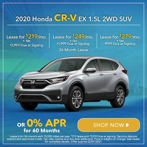 2020 Honda CR-V EX 1.5L 2WD SUV