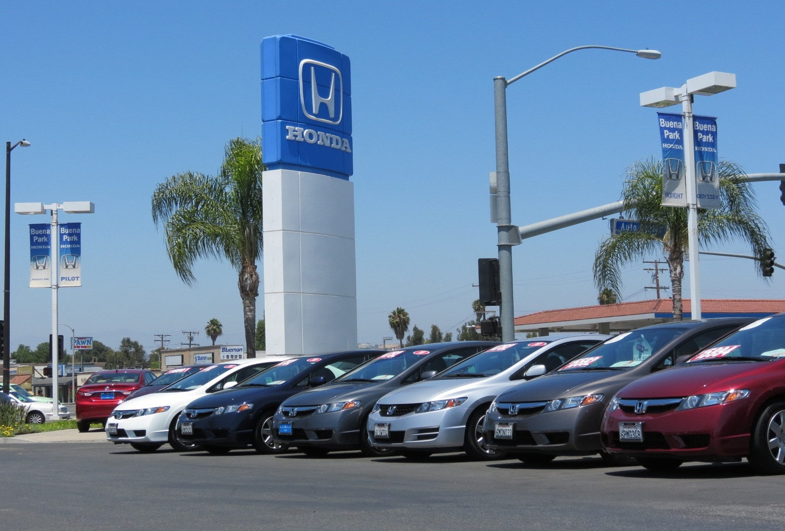 contact us buena park honda
