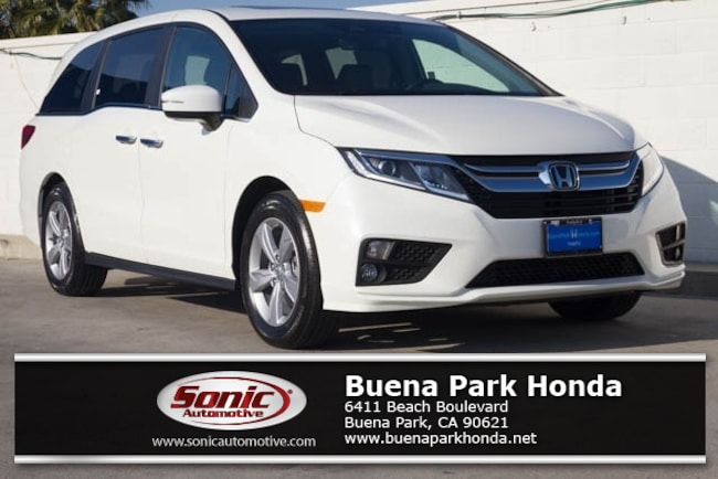 New 2019 Honda Odyssey EX-L Van in Orange County