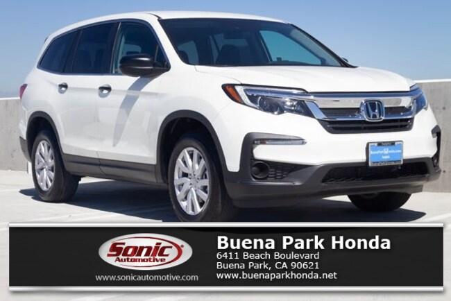 New 2019 Honda Pilot LX AWD SUV in Orange County