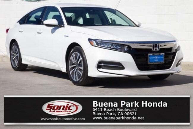 New 2019 Honda Accord Hybrid Sedan in Orange County