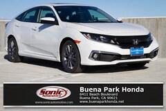 New 2019 Honda Civic EX-L Sedan for sale in Orange County