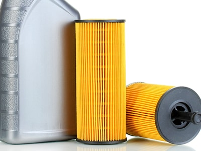 Oil Filter w/ Crush Washer