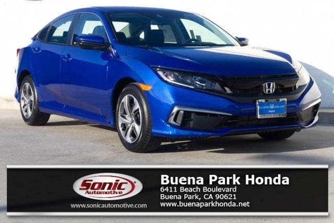 New 2019 Honda Civic LX Sedan in Orange County