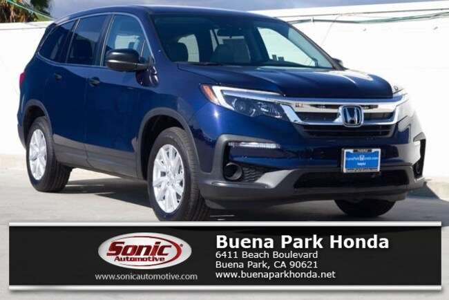 New 2019 Honda Pilot LX FWD SUV in Orange County