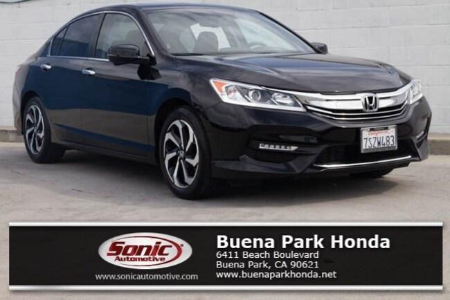 Certified 2016 Honda Accord EX-L Sedan in Orange County