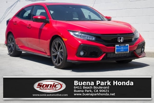 New 2019 Honda Civic Sport Touring Hatchback in Orange County