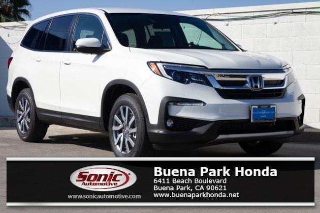 New 2019 Honda Pilot EX FWD SUV in Orange County
