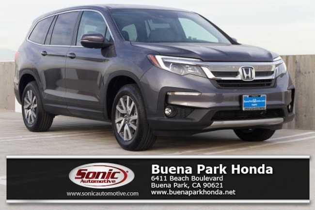 New 2019 Honda Pilot EX-L FWD SUV in Orange County