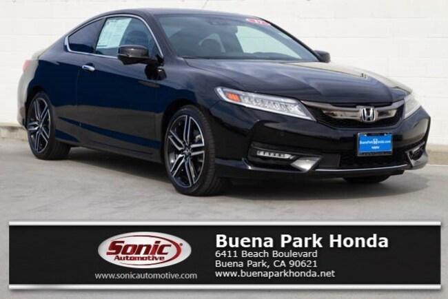 Used 2017 Honda Accord Touring  Auto Coupe in Orange County