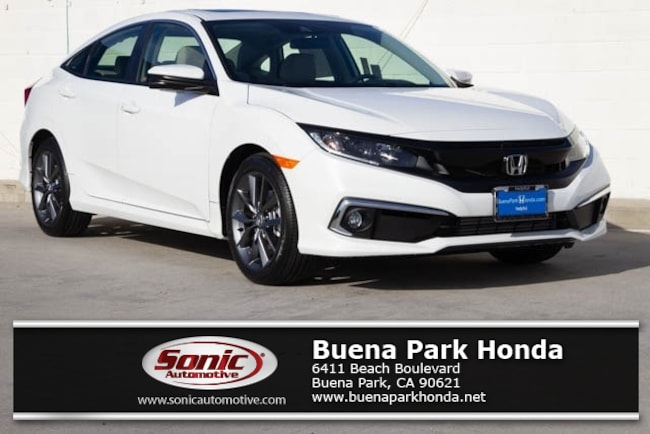 New 2019 Honda Civic EX Sedan in Orange County