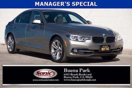 2018 BMW 330e 330e iPerformance Sedan