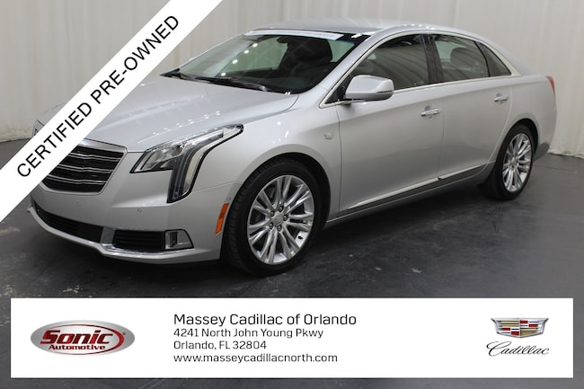Certified Pre-Owned 2018 CADILLAC XTS Luxury Sedan for sale in Fort Myers, FL