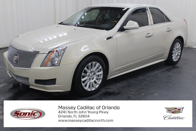 Used 2011 CADILLAC CTS Luxury Sedan for sale in Fort Myers, FL