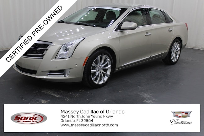 Certified Pre-Owned 2016 CADILLAC XTS Luxury Collection Sedan for sale in Fort Myers, FL