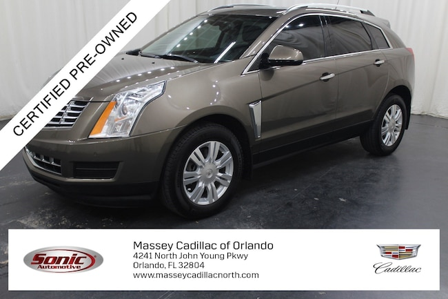 Certified Pre-Owned 2016 CADILLAC SRX Luxury Collection SUV for sale in Fort Myers, FL