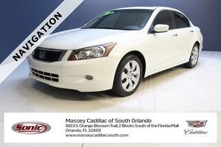 Used 2010 Honda Accord 3.5 EX-L w/Navi Sedan in Fort Myers