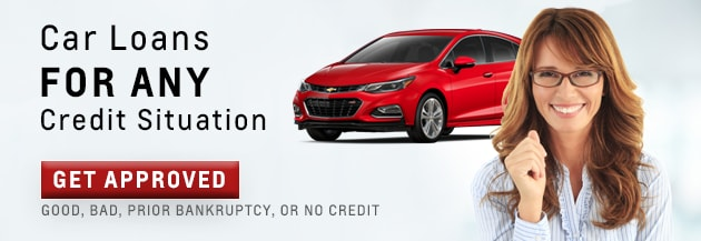 Bad Credit Car Loans Capitol Chevrolet Montgomery Financing