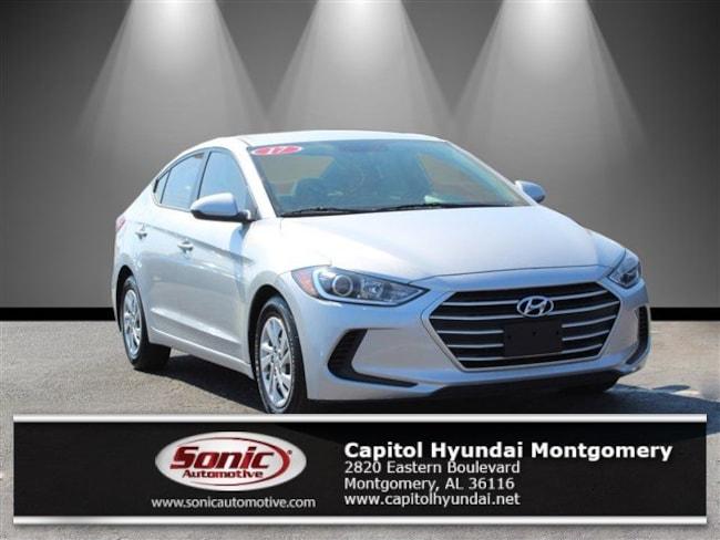Used 2017 Hyundai Elantra SE Sedan for sale in Montgomery, AL