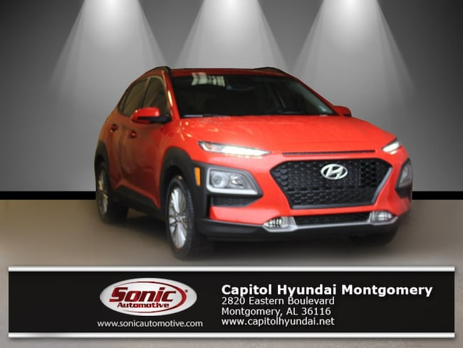 New 2019 Hyundai Kona SEL SUV for sale in Montgomery, AL