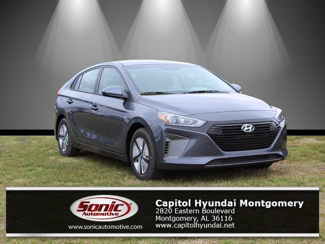 New 2019 Hyundai Ioniq Hybrid Blue Hatchback for sale in Montgomery, AL