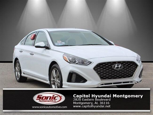 Certified 2018 Hyundai Sonata Sport Sedan in Montgomery