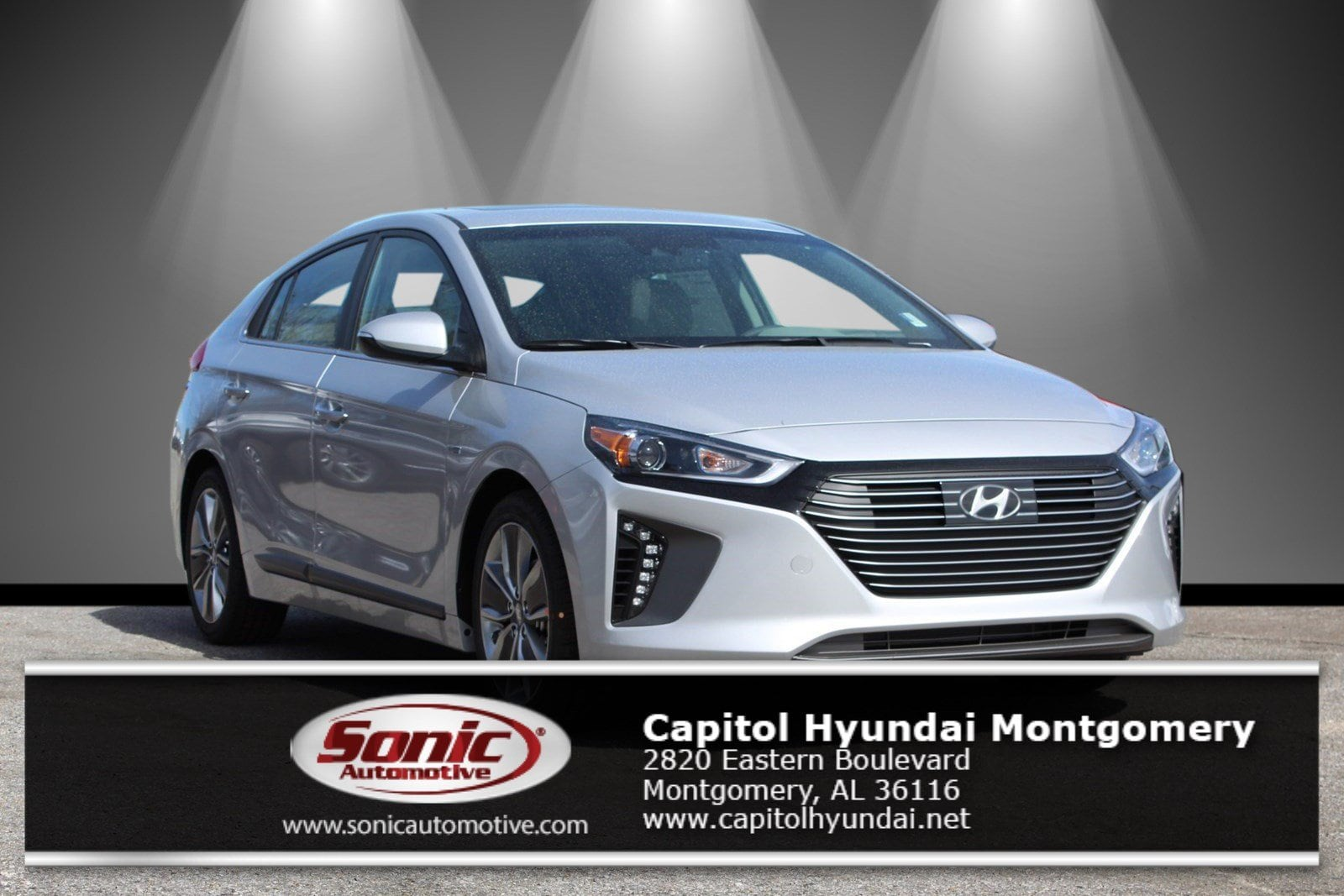 New 2019 Hyundai Ioniq Hybrid Limited Hatchback for sale in Montgomery