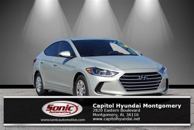 Certified 2018 Hyundai Elantra SE Sedan in Montgomery