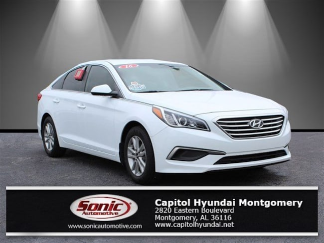 Certified 2016 Hyundai Sonata SE Sedan in Montgomery