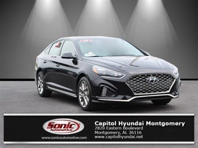 Used 2018 Hyundai Sonata Limited 2.0T+ Sedan for sale in Montgomery, AL