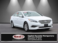 Certified Pre-Owned 2017 Hyundai Sonata SE Sedan for sale in Montgomery, AL