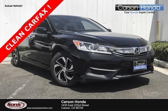 Used 2017 Honda Accord LX Sedan in Carson CA